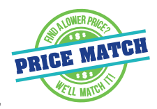 Logo of Follett's price match guarantee