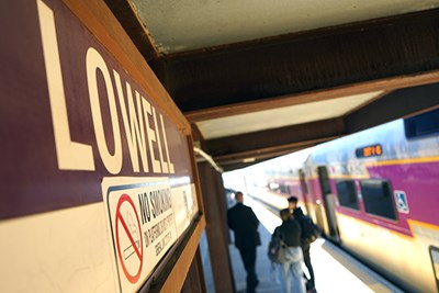 UMass Lowell/MBTA Partnership Offers Campus Free Commuter