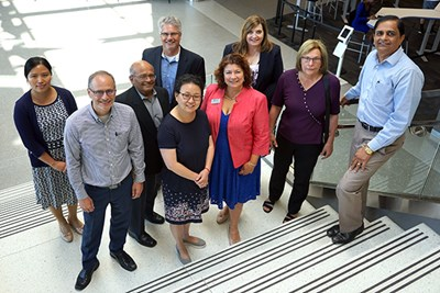 GE2 faculty and Dean Sandra Richtermeyer at University Crossing