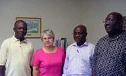 Ghana Parliament Members Visit UML | UMass Lowell