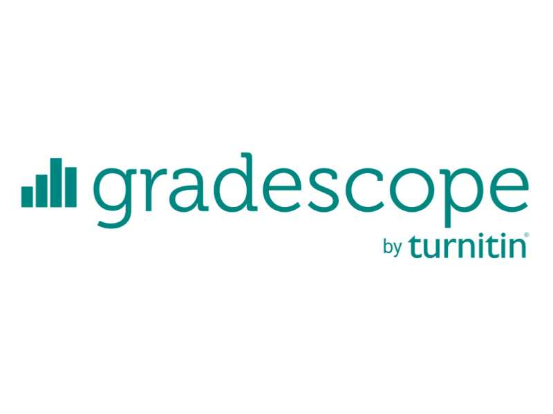 Gradescope logo green and white