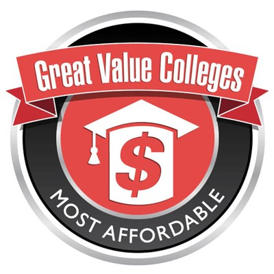 Great Value Colleges Most Affordable logo