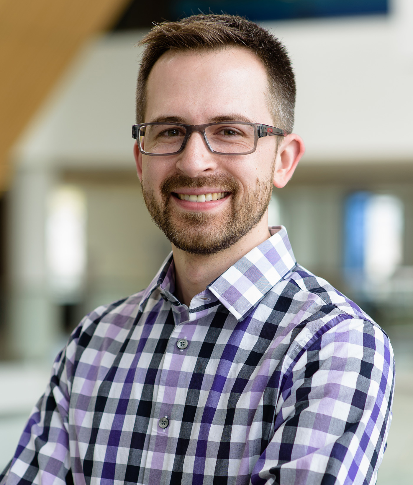 Christopher Hansen, UMass Lowell Engineering Professor headshot photo