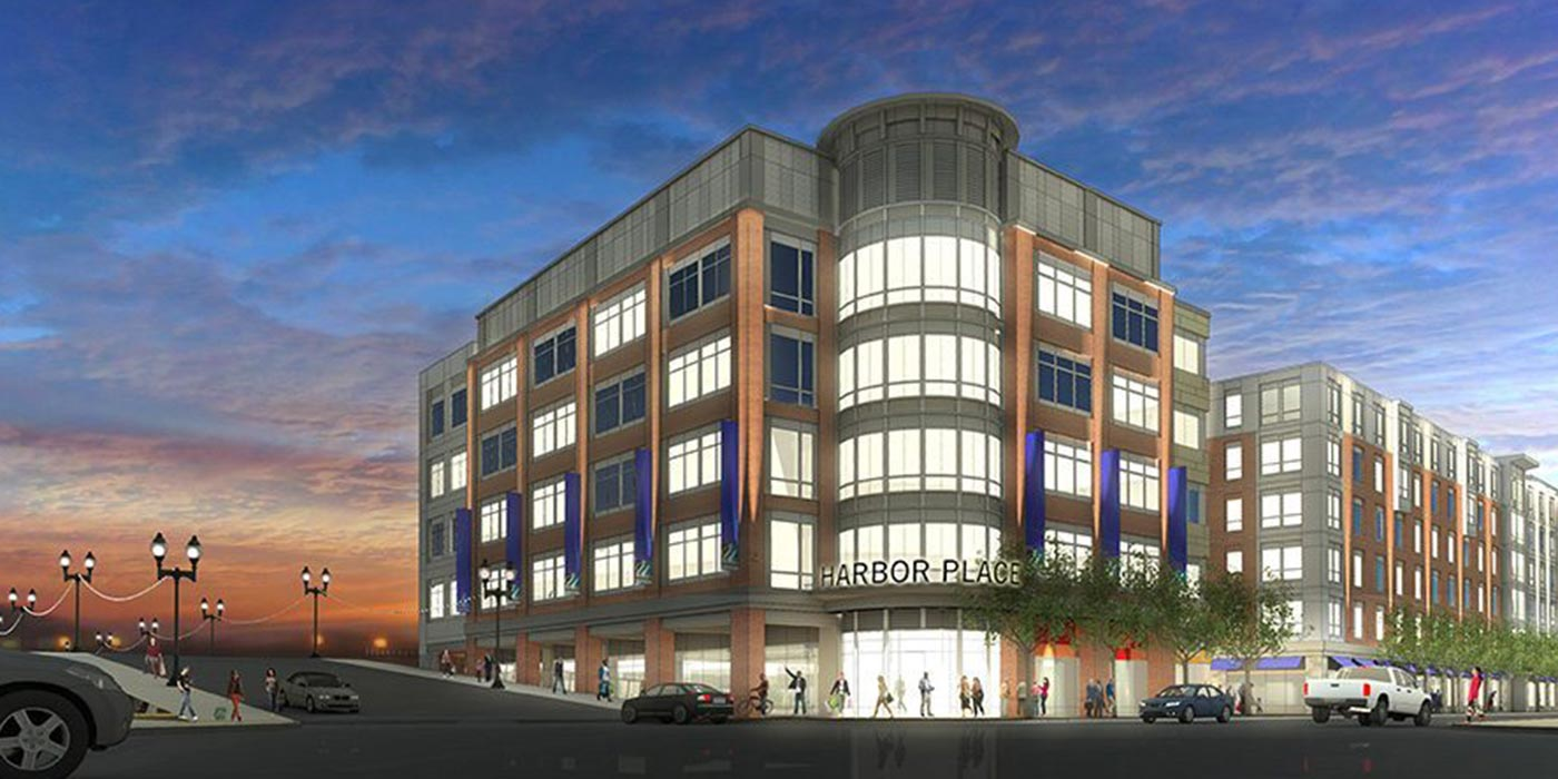 Artist rendering of Harbor Place in Haverhill
