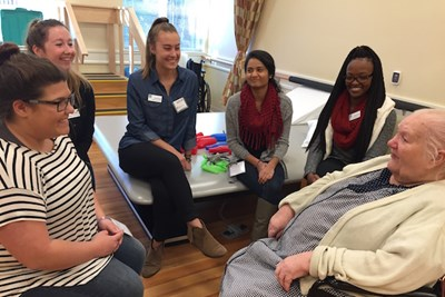 Students at Summit ElderCare