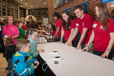 College Of Health Sciences Rallies For Hockey Health And Fun