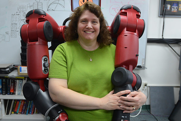 Roboticist Holly Yanco