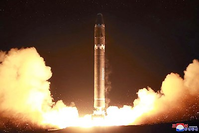 North Korean ICBM