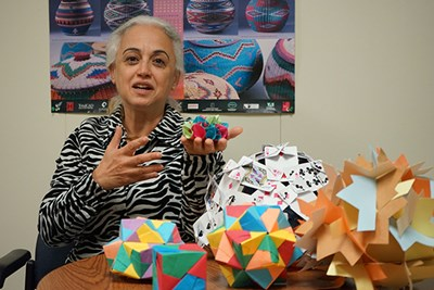 Assoc. Prof. of Education Iman Chahine won a Fulbright U.S. Scholar Award to do ethnomathematical research in South Africa