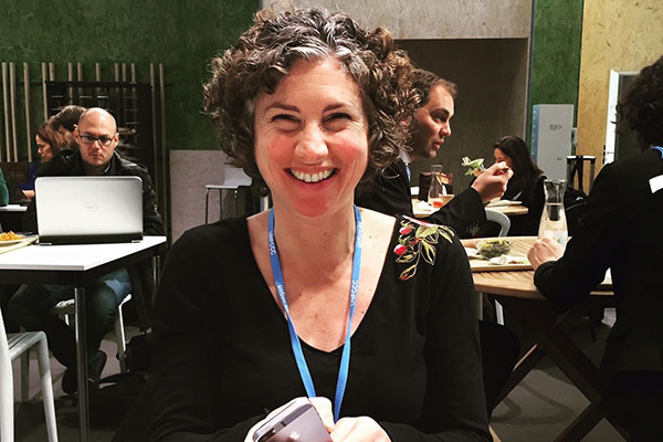 Assoc. Prof. Juliette Rooney-Varga represented the UMass Lowell Climate Change Initiative at COP21 in Paris.