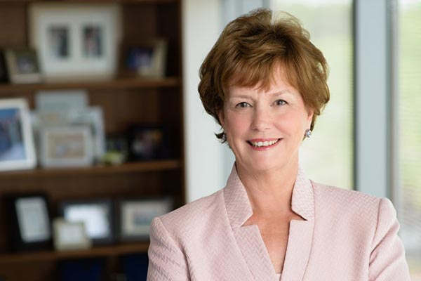 UMass Lowell Chancellor Jacqueline Moloney -- the first woman leader of the institution in its history -- will mark her first year at the helm of the university on Aug. 3, 2016.