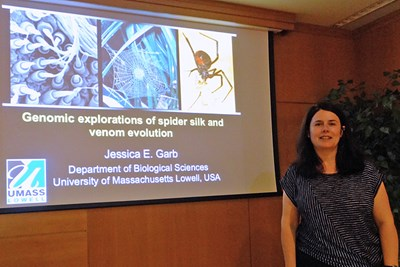 Assoc. Prof. Jessica Garb in Spain