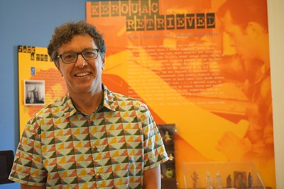 Associate Professor of English Todd Tietchen is a noted Kerouac scholar