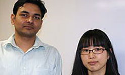 Tripathy Fellows Abhishek Kumar and Jisun Im