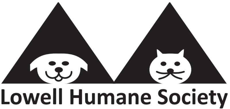 Lowell House of Hope logo. The Lowell Humane Society collects items used for dogs, cats, and small animals at their shelter.