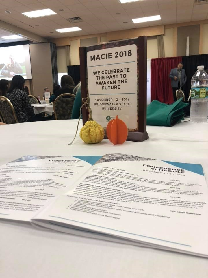 MaCIE Fall Conference Tabletop 2018