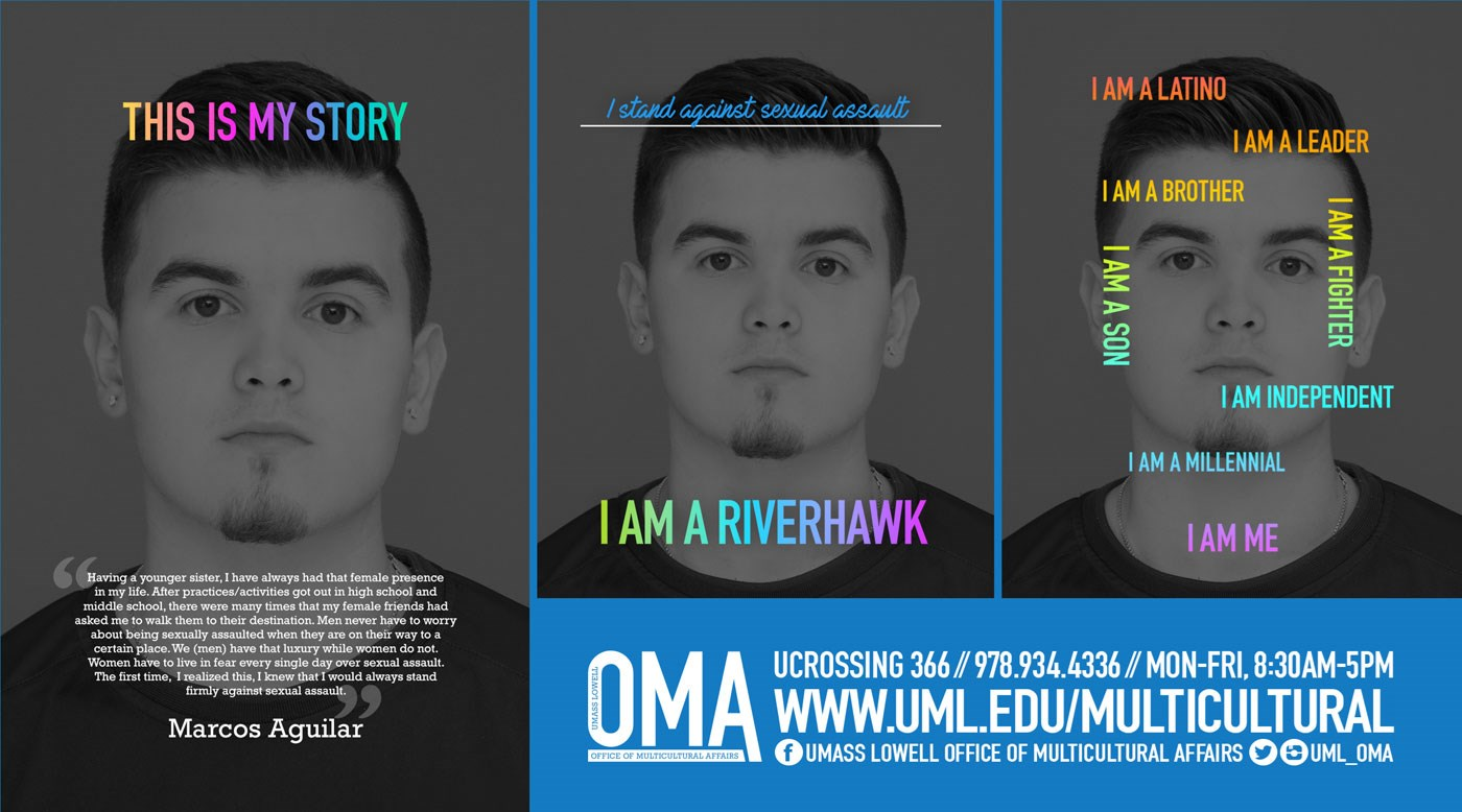 In Fall 2016, OMA launched a 3-part series called Active Ally Campaign. Eleven students contributed to sharing their thoughts with the campus community.