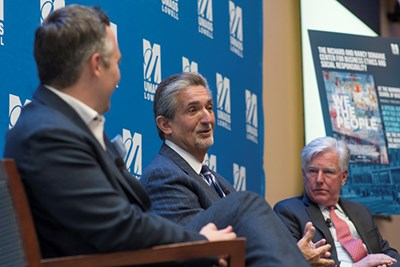 Julie Chen and Jacquie Moloney chat with Ted Leonsis