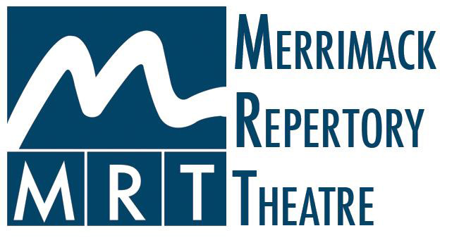 Logo for the Merrimack Repertory Theatre in Lowell, Mass.