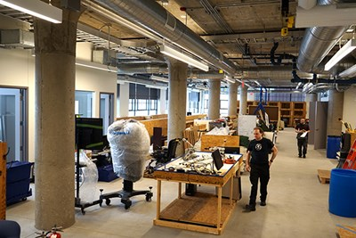 NERVE Center staff move in to their new location at the Innovation Hub
