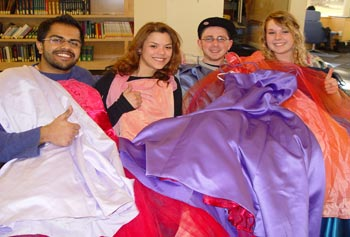 Club Collects Dresses for Lowell High