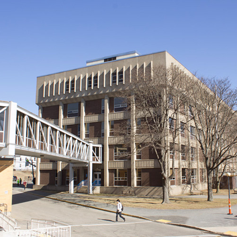 Olney Hall, home of UMass Lowell's Chemistry Department