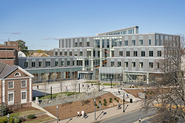 The Pulichino Tong Business Center, home of the Manning School of Business, is the university's second LEED Gold building.