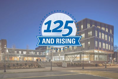 125 and Rising logo
