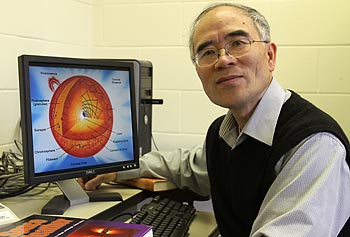 Prof. Paul Song is director of UMass Lowell's Center for Atmospheric Research, one of the pioneers in the national space-weather research program and a leader in the study of magnetosphere-ionosphere interactions.
