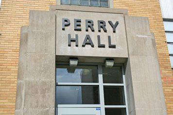 UMass Lowell's Engineering Building was officially renamed as Perry Hall during a ceremony on April 19.