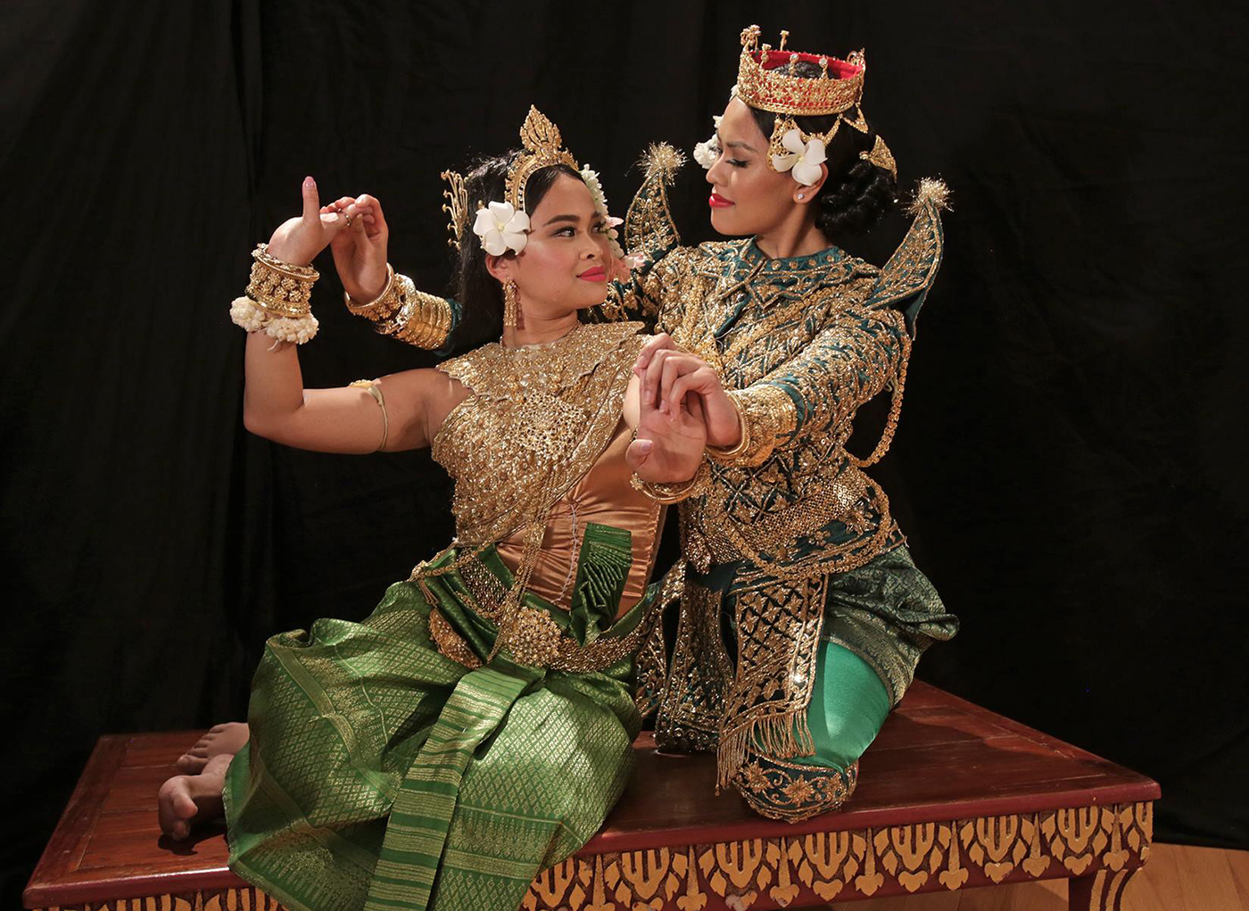 The Angkor Dance Troupe is excited to announce the showcase of Preah Thoung Neang Neak: Origin of Cambodian Wedding. Preah Thoung Neang Neak is a tale that shares the union of an Indian Prince (Preah Thoung) and the Naga Princess (Neang Neak), the earliest ancestors of the Khmer people, also seen in present day traditional Cambodian wedding ceremonies. The production will feature a range of dancers from Youth to Alumni, as well as the works of ADT's Artistic Director, Phousita Huy, in collaboration with many Master Teachers from the Royal University of Fine Arts in Phnom Penh, Cambodia.