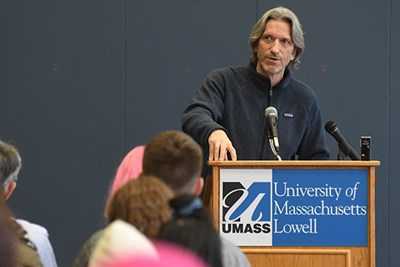 John Prendergast at UMass Lowell
