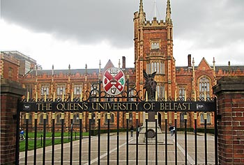 UMass Lowell is partnering with Queen's University Belfast in Northern Ireland, above, and Dublin City University to host the Advanced Materials, Polymer Processing and Manufacturing Conference in Belfast, Sept. 25 and 26.