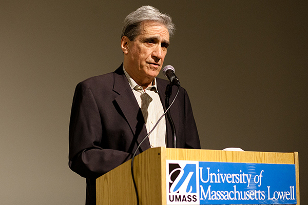 Three-time U.S. Poet Laureate Robert Pinsky reads from his work.