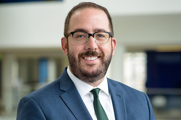 Asst. Prof. Ryan Shields leads a National Institute of Justice grant to improve methods of identifying victims of sex and labor trafficking.