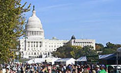 500,000 Attended Expo on the National Mall