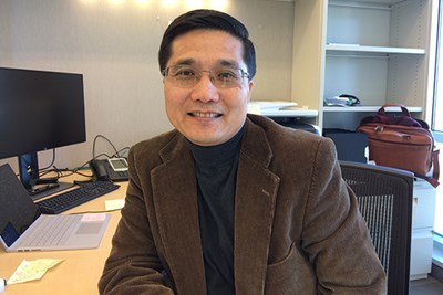 Sheldon Zhang, the new chairman of the School of Criminology and Justice Studies, researches transnational crime and labor trafficking.