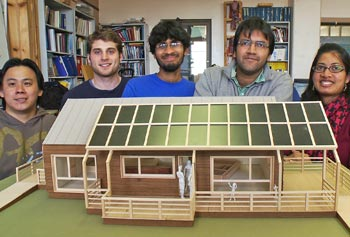 Umass lowell massart students to compete in solar for Solar energy information for students