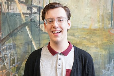 UMass Lowell theatre arts major Alexander Wedge got a paid stage management internship in the program