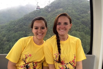Nursing students explore China