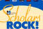 """Scholars Rock!"" will be on view throughout 2010. The event is funded by the University Libraries."