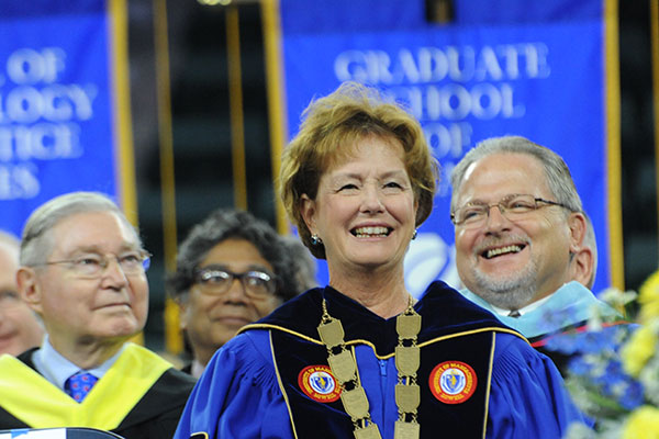 UMass Lowell will formally welcome new students and open the academic year during Convocation on Wednesday, Aug. 31.