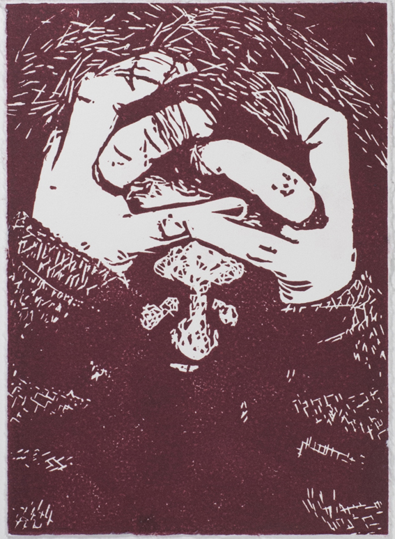 Veronica Iria printmaking