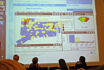 The latest version of Weave was showcased recently during Data Day, a gathering held at Northeastern University and attended by members of the media and academia as well as local and state officials.