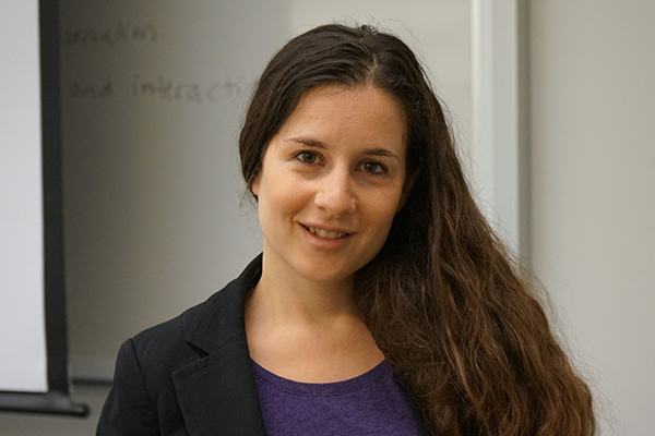 Asst. Prof. of Psychology Yana Weinstein helps students study more effectively with strategies based on science.