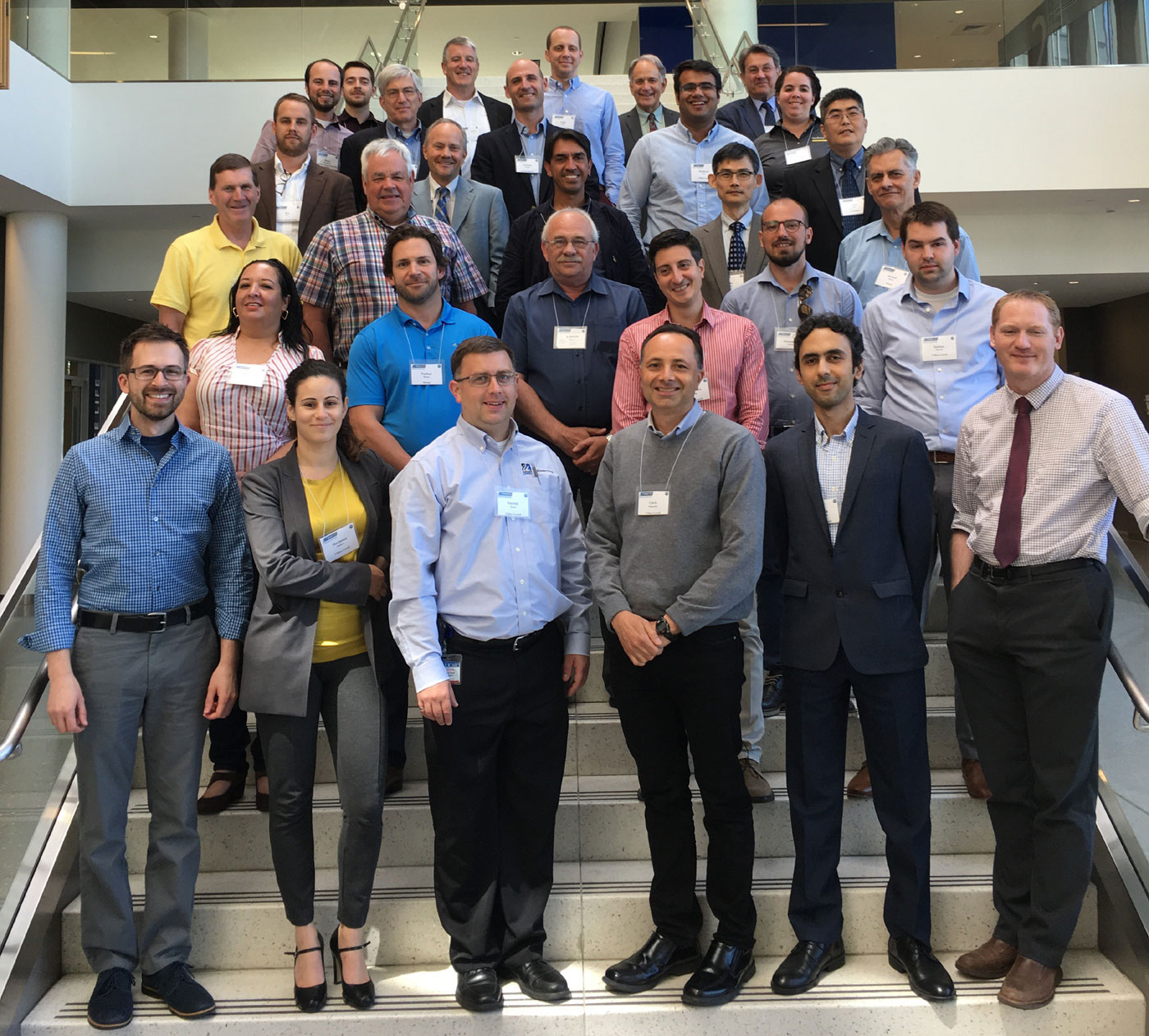 WindSTAR Researchers pose for a group picture at an annual meeting.