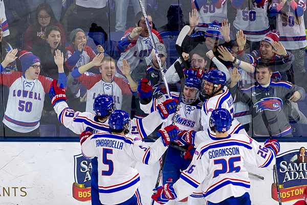 The fourth-ranked UMass Lowell hockey team begins its quest for a fifth straight trip to the Hockey East tournament finals this weekend at the Tsongas Center.