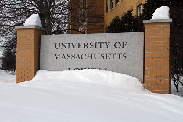 Snow accumulation at UMass Lowell has exceeded 100 inches so far this season, with more fresh powder expected in the coming weeks.