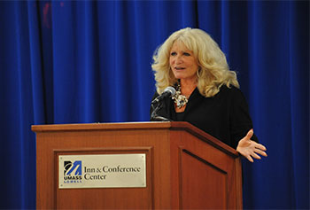 Former broadcast journalist Susan Wornick spoke about her career in Boston TV news at a recent Lunchtime Lecture.