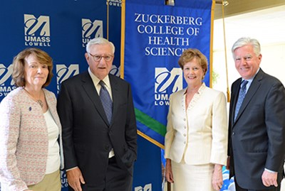 Zuckerberg College of Health Sciences dedication